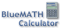 BlueMATH Calculator